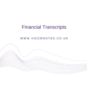 Financial Transcripts