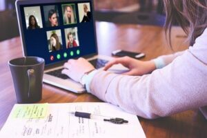 how to do adviser client meetings virtually